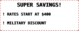 PHOTO BOOTH SUPER SAVINGS!